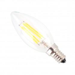 LED Retro spuldze 6W E14...