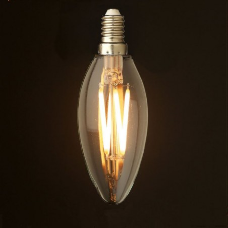 LED Retro Light Bulb 6W E14...