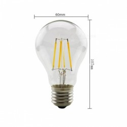 LED ретро лампочка 6W E14 G45