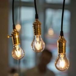 LED ретро лампочка 6W E27 A60
