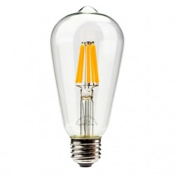 LED Retro Light Bulb 6W E27...