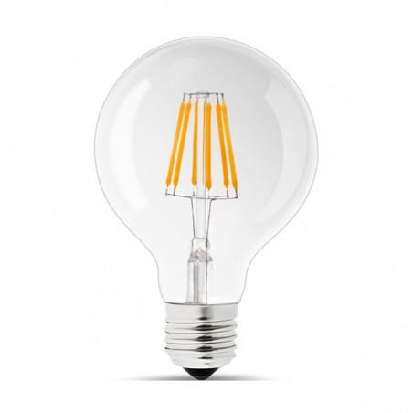 LED Retro spuldze 6W E27 G80