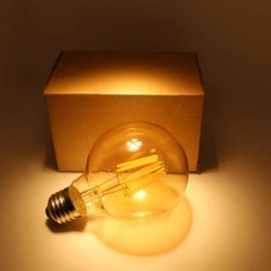 LED Retro spuldze 6W E27 G95