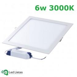 LED встроенная панель 6W...