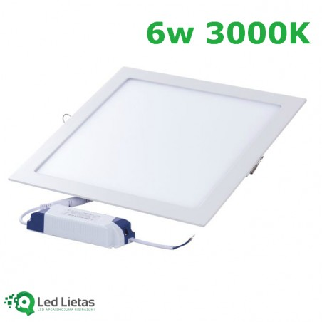 LED built-in panel 6W...