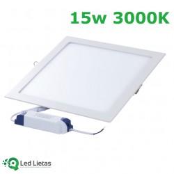 LED встроенная панель 15W...