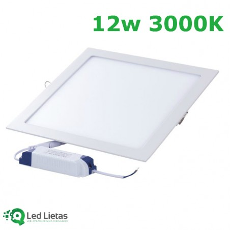 LED built-in panel 12W...
