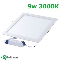 LED built-in panel 9W...