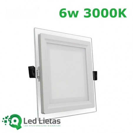 LED Built-in Panel 6W with...