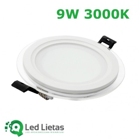 LED built-in panel 9W with...
