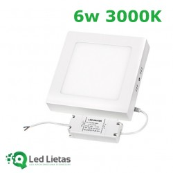 LED Surface panel 6W,...