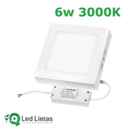 LED Surface panel 6W,...