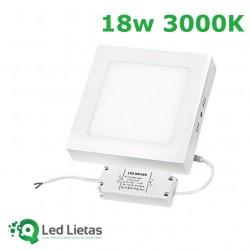 LED surface panel 18W,...