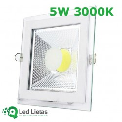 LED встроенная панель 5W с...