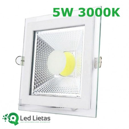 LED built-in panel 5W with...