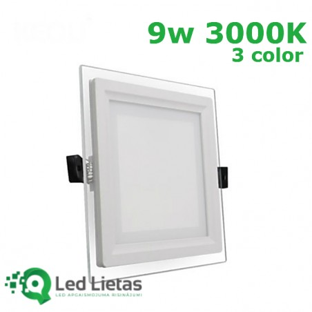LED iebūvējamie paneļi 9W,...