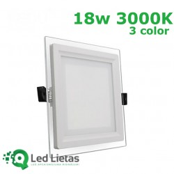 LED recessed panel 18W,...