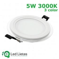 LED iebūvējamie paneļi 5W,...
