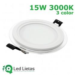 LED iebūvējamie paneļi 15W,...