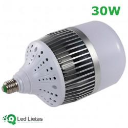 LED Spuldze 30W 4000K E27