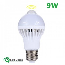 LED bulb with integrated...