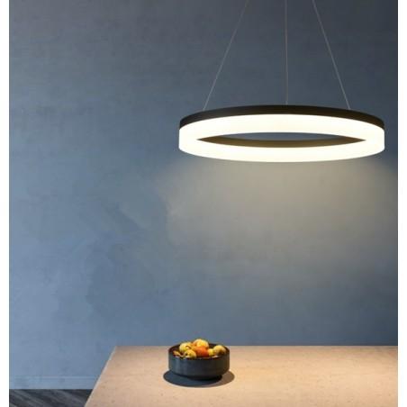 LED griestu lampa apaļa